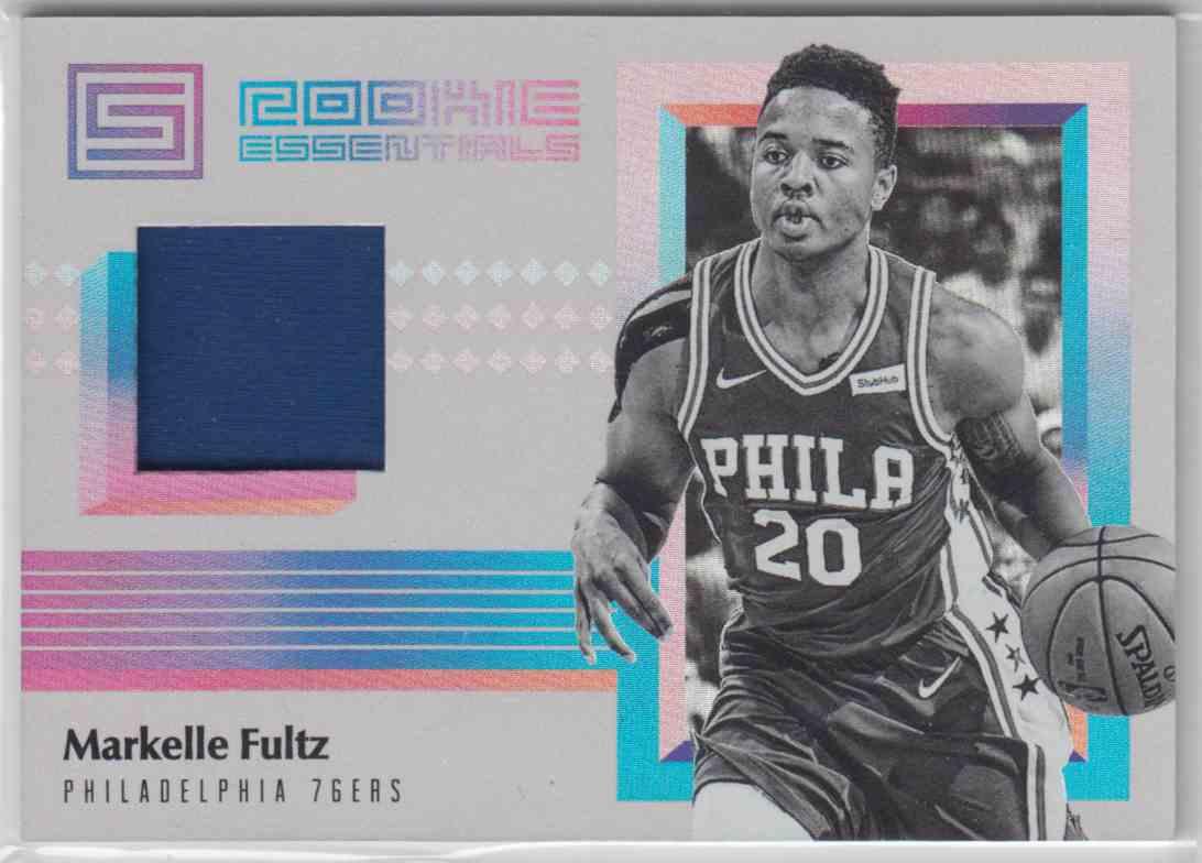 2017-18 Panini Status Rookie Essentials Markelle Fultz #RE-MFL card front image