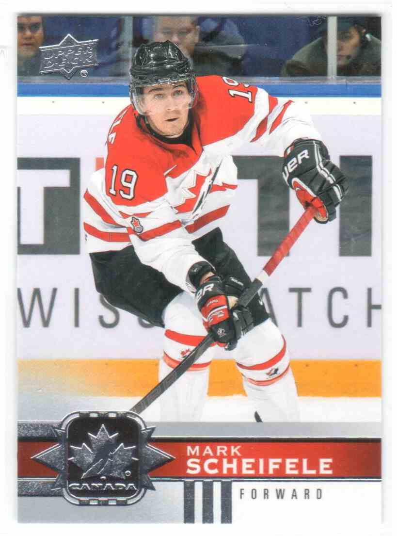 2017-18 Upper Deck Team Canada Canadian Tire Mark Scheifele #113 card front image