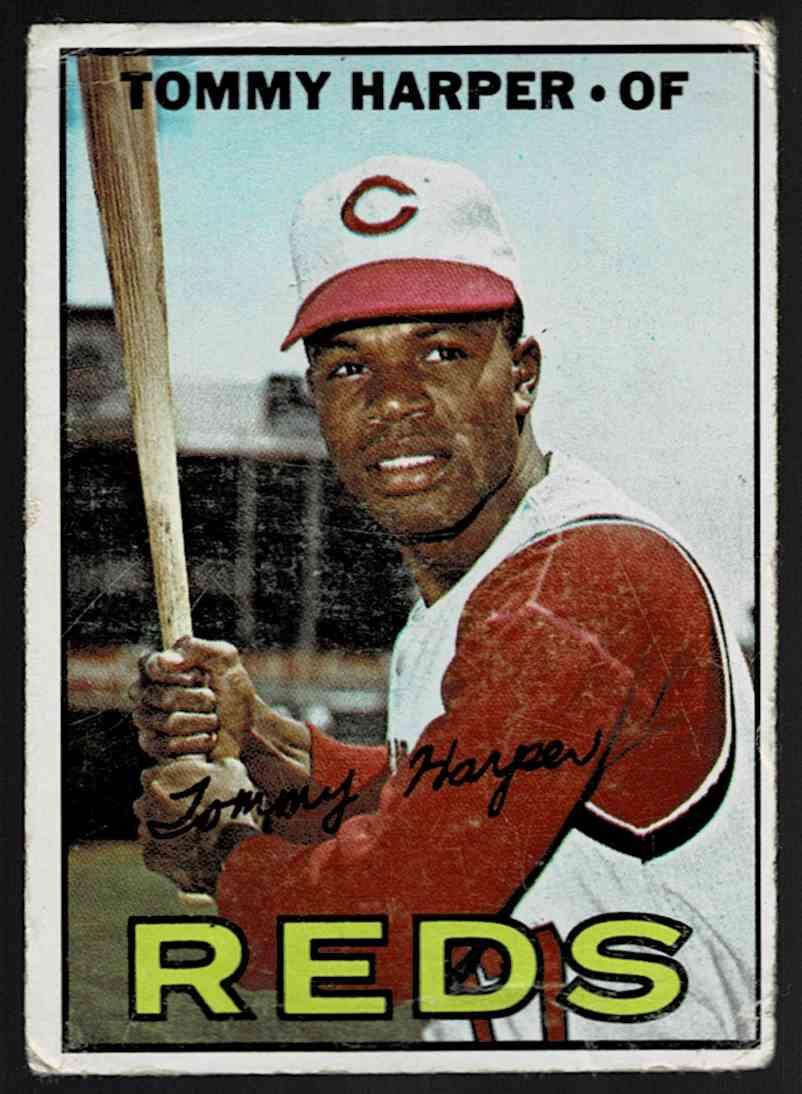 1967 Topps Tommy Harper #392 card front image