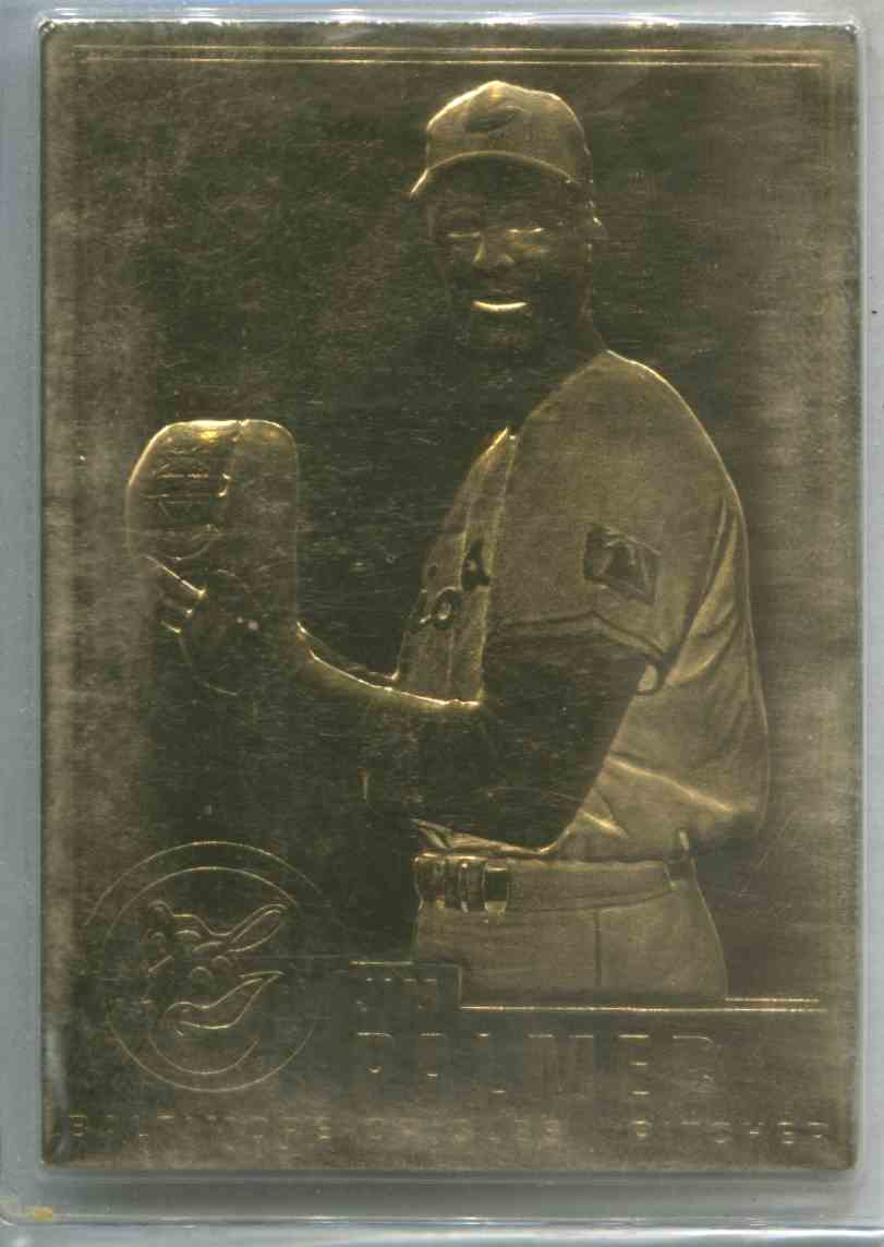 1996 Dansbury Danbury Mint 22k Gold Jim Palmer 4 On