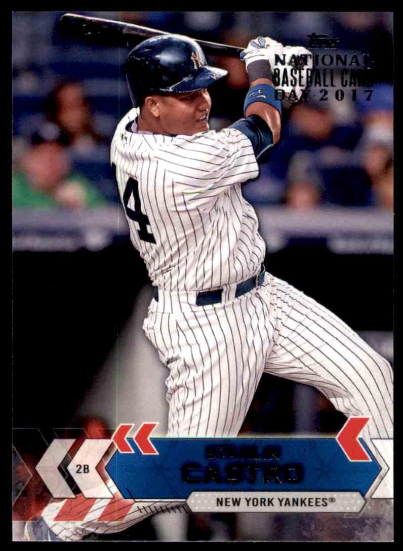 2017 Topps National Baseball Card Day Starlin Castro Nyy 3