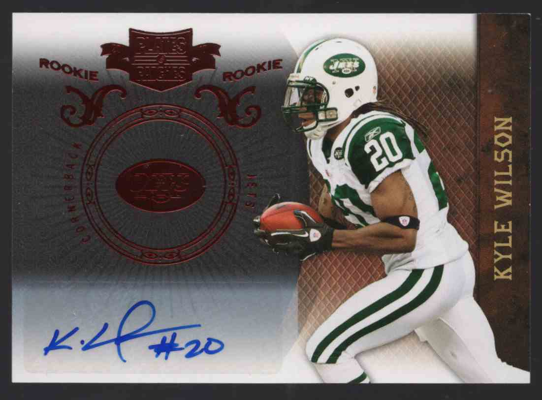 2010 Panini Plates And Patches Kyle Wilson #164 card front image