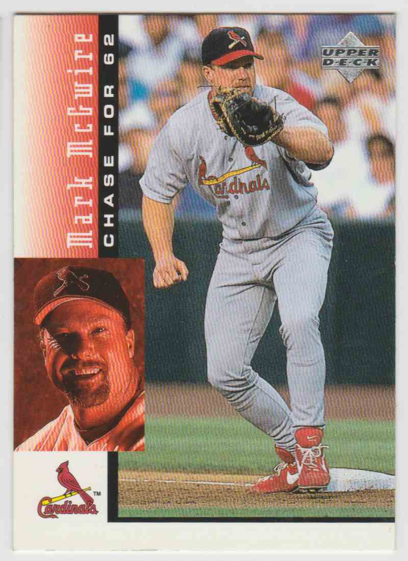 1998 Upper Deck Mark Mcgwire39s Chase For 62 Mark Mcgwire