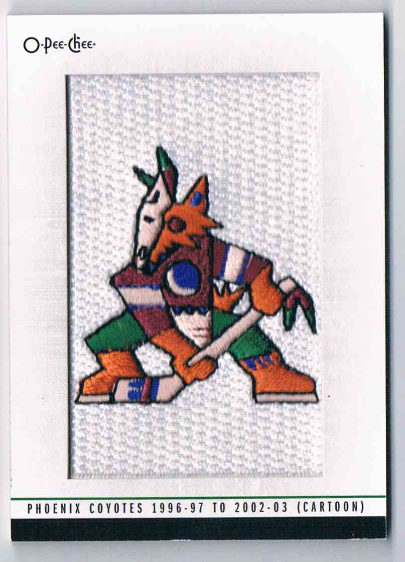 2013-14 O-Pee-Chee Team Logo Patches 1996-97 To 2002-03 #200 card front image