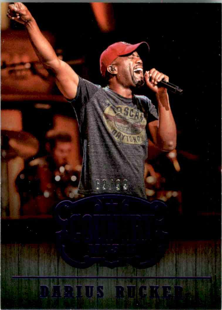 2015 Country Music Purple Darius Rucker #85 card front image