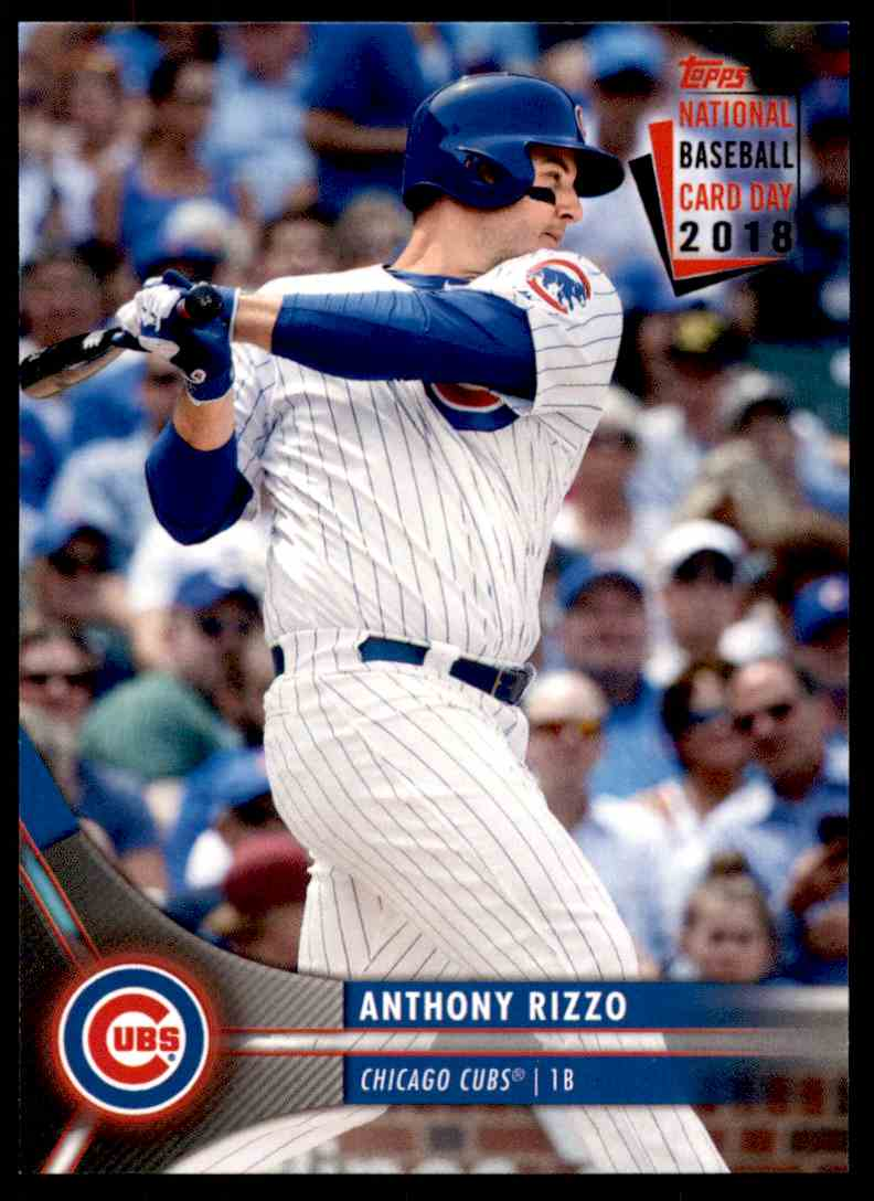 2018 Topps National Baseball Card Day 2018 Anthony Rizzo