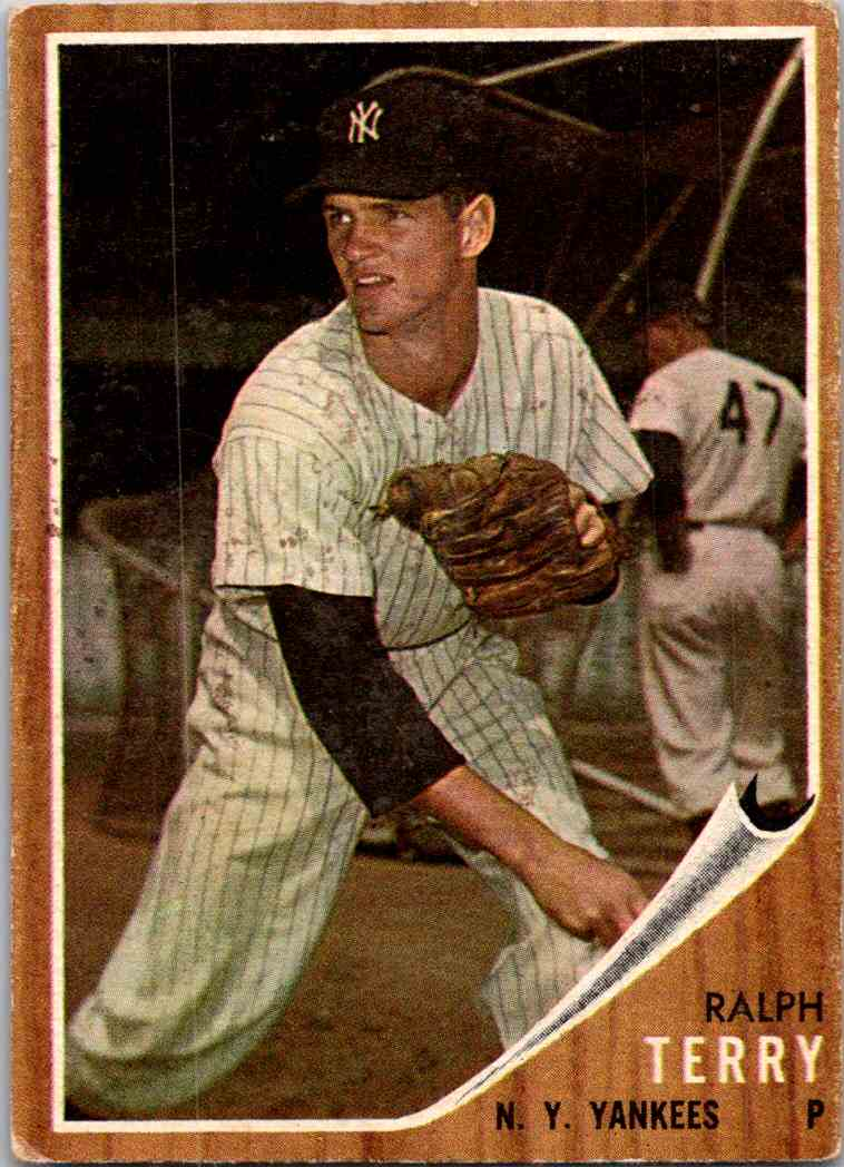 1962 Topps Ralph Terry #48 card front image