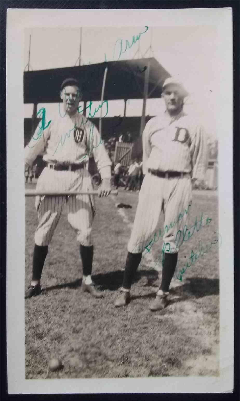 1922 3X5 Photo Herman Pillette card front image
