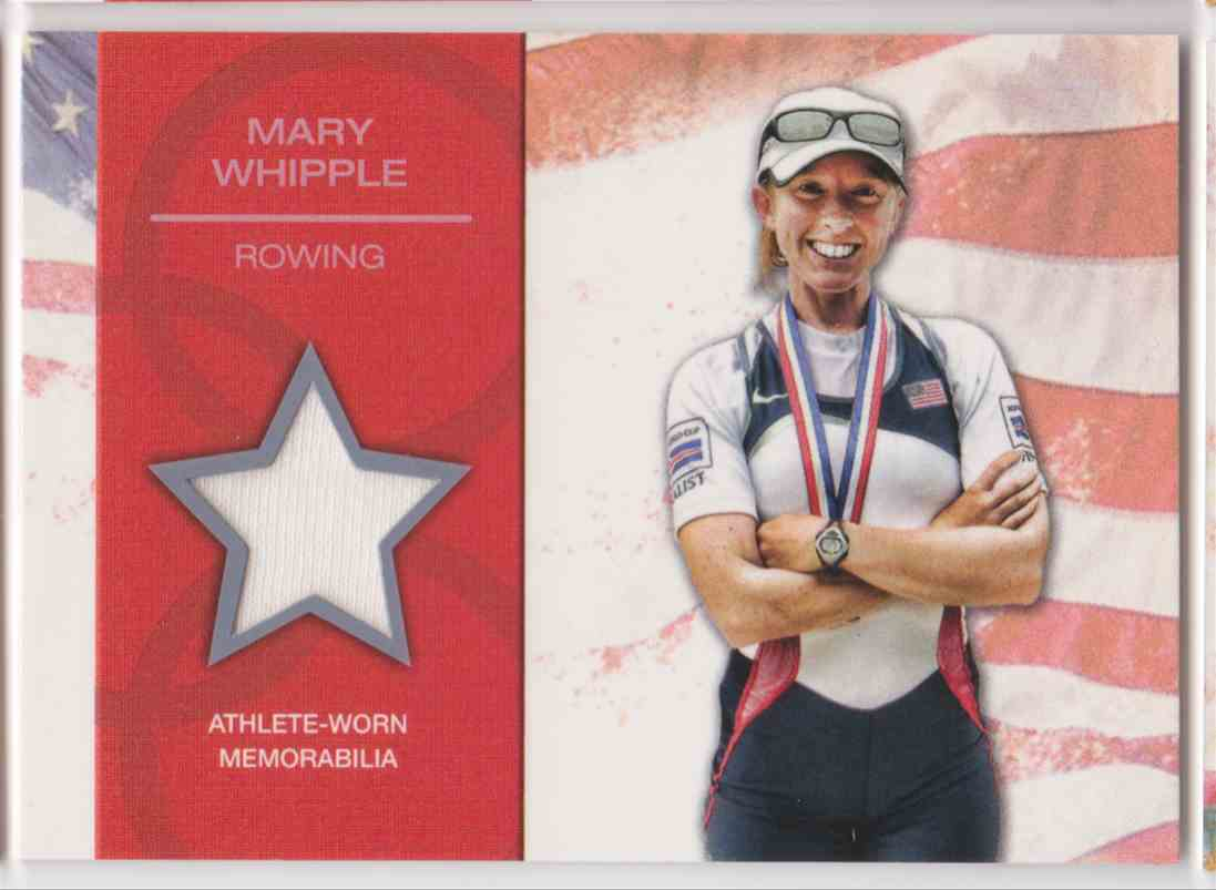 2012 Topps U.S. Olympic Team Relic Mary Whipple #OR-MW card front image