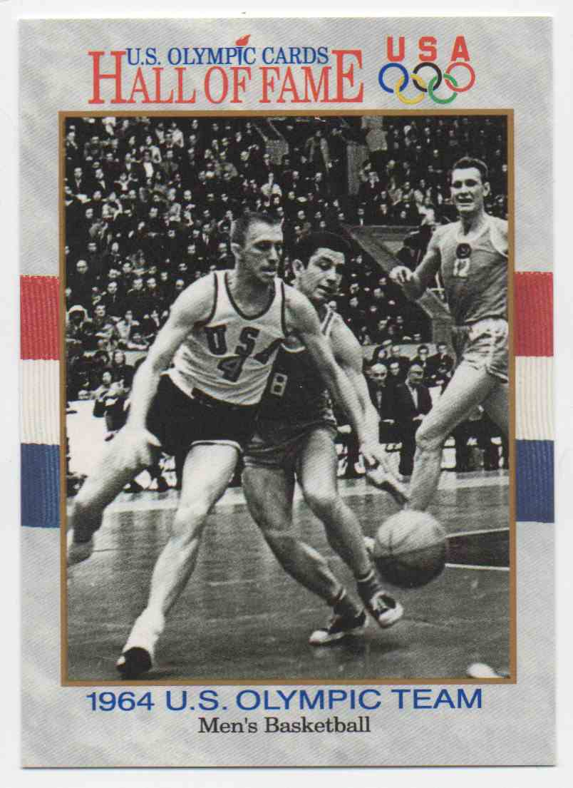 1991 Impel U.S. Olympic Hall Of Fame Dick Davies #53 card front image