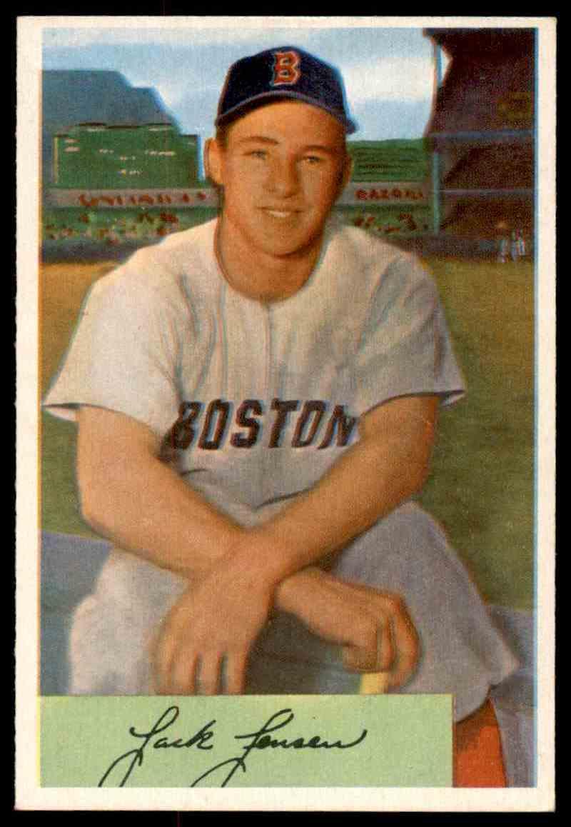 1954 Bowman Jackie Jensen 2 On Kronozio