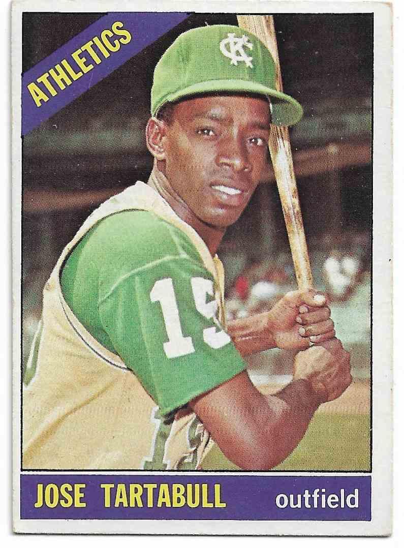 1966 Topps Jose Tartabull #143 card front image