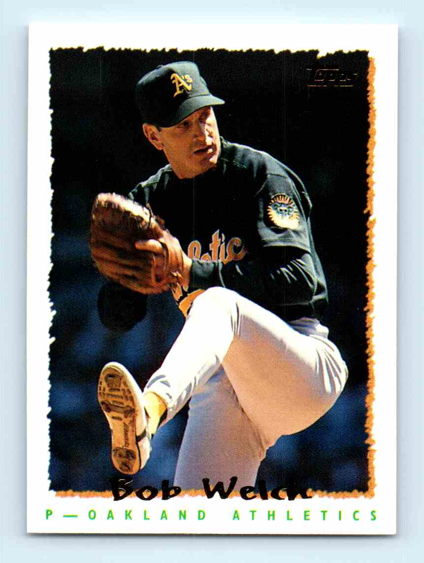 1995 Topps Bob Welch 364 On Kronozio
