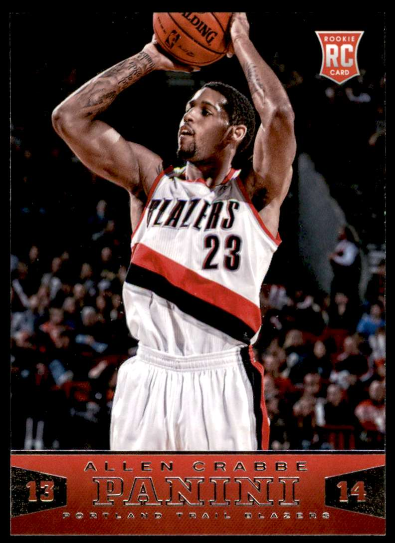 2013-14 Panini Allen Crabbe #197 card front image