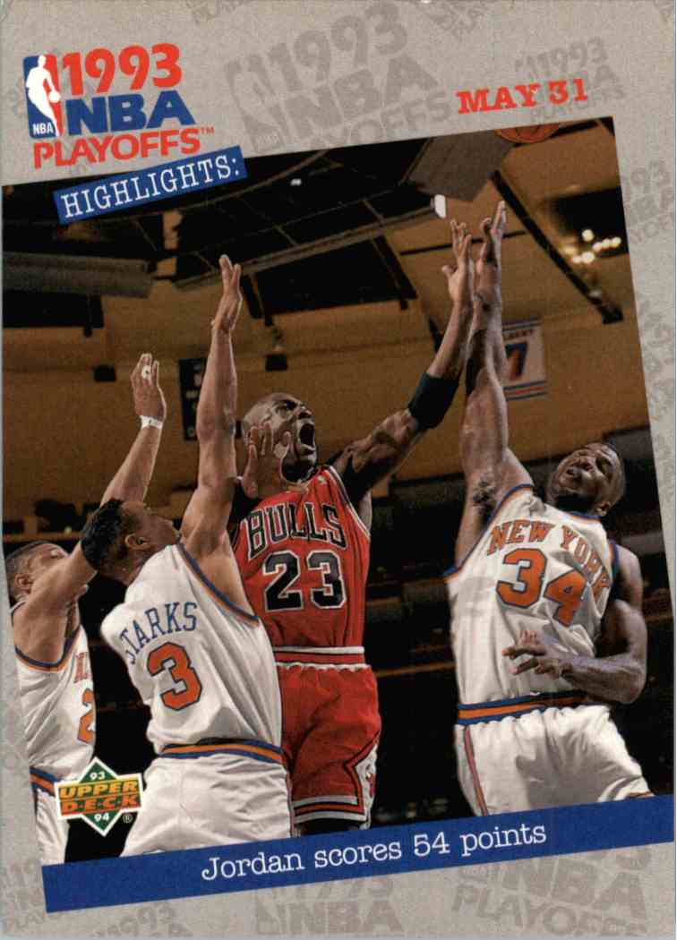 1993-94 Upper Deck UD Choice Michael Jordan #193 card front image