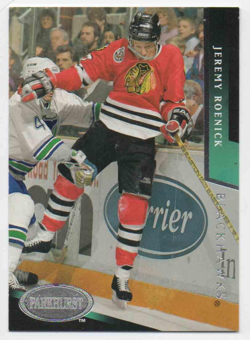 1993-94 Parkhurst Jeremy Roenick #309 card front image