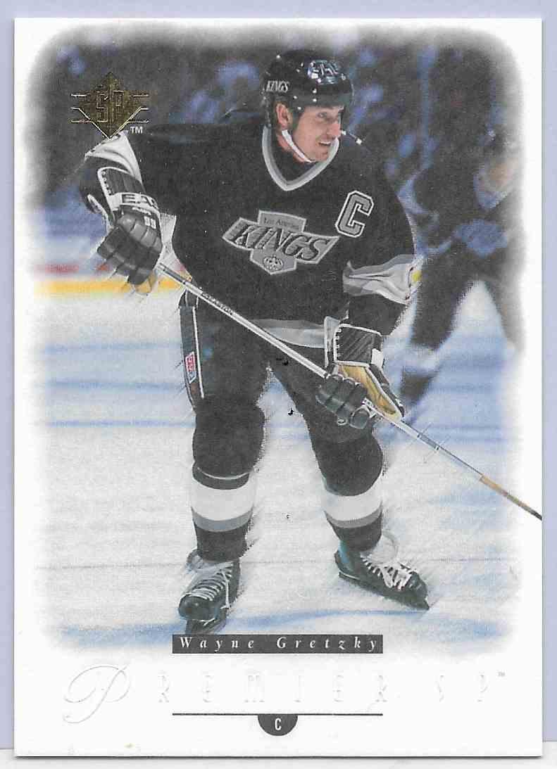 1995-96 SP Premier Wayne Gretzky #17 card front image