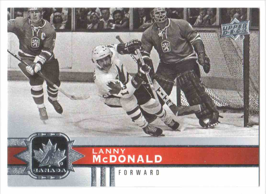 2017-18 Upper Deck Team Canada Canadian Tire Lanny McDonald #72 card front image