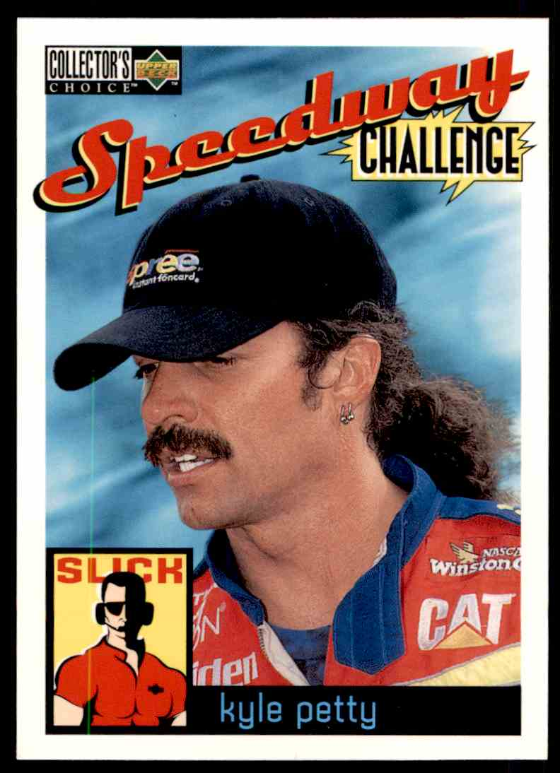 1996 Upper Deck Kyle Petty #114 card front image