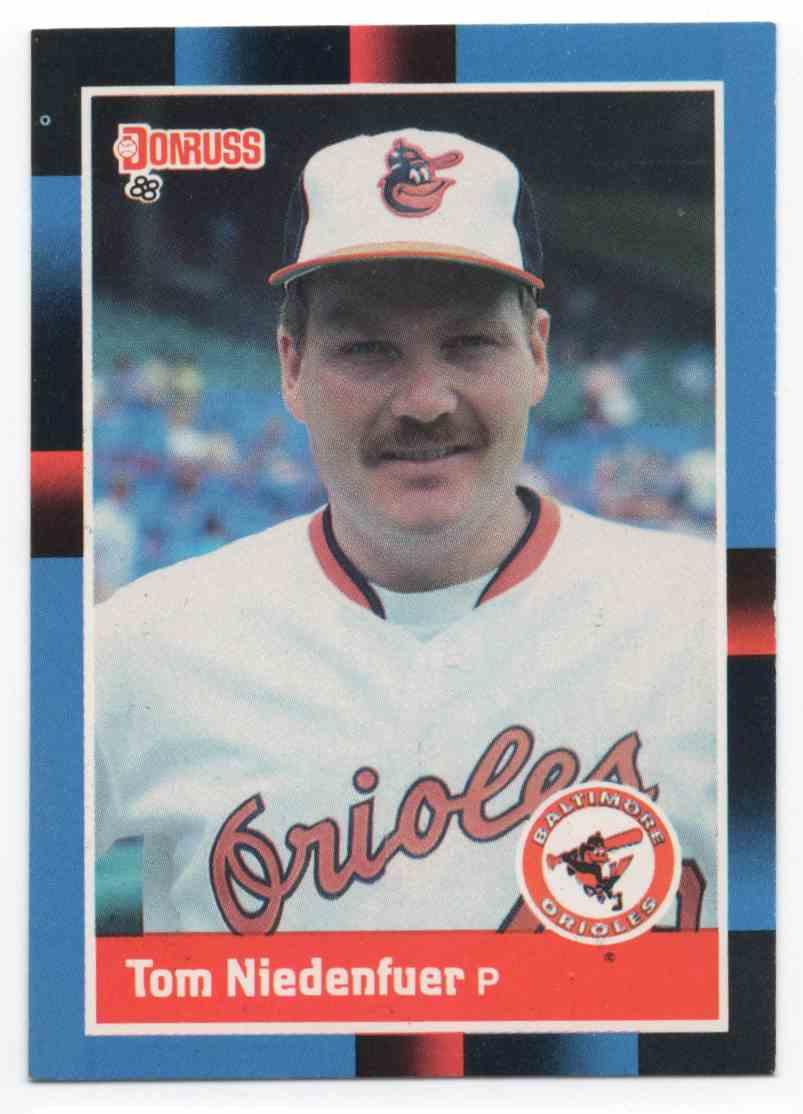 1988 Donruss Tom Niedenfuer #294 card front image