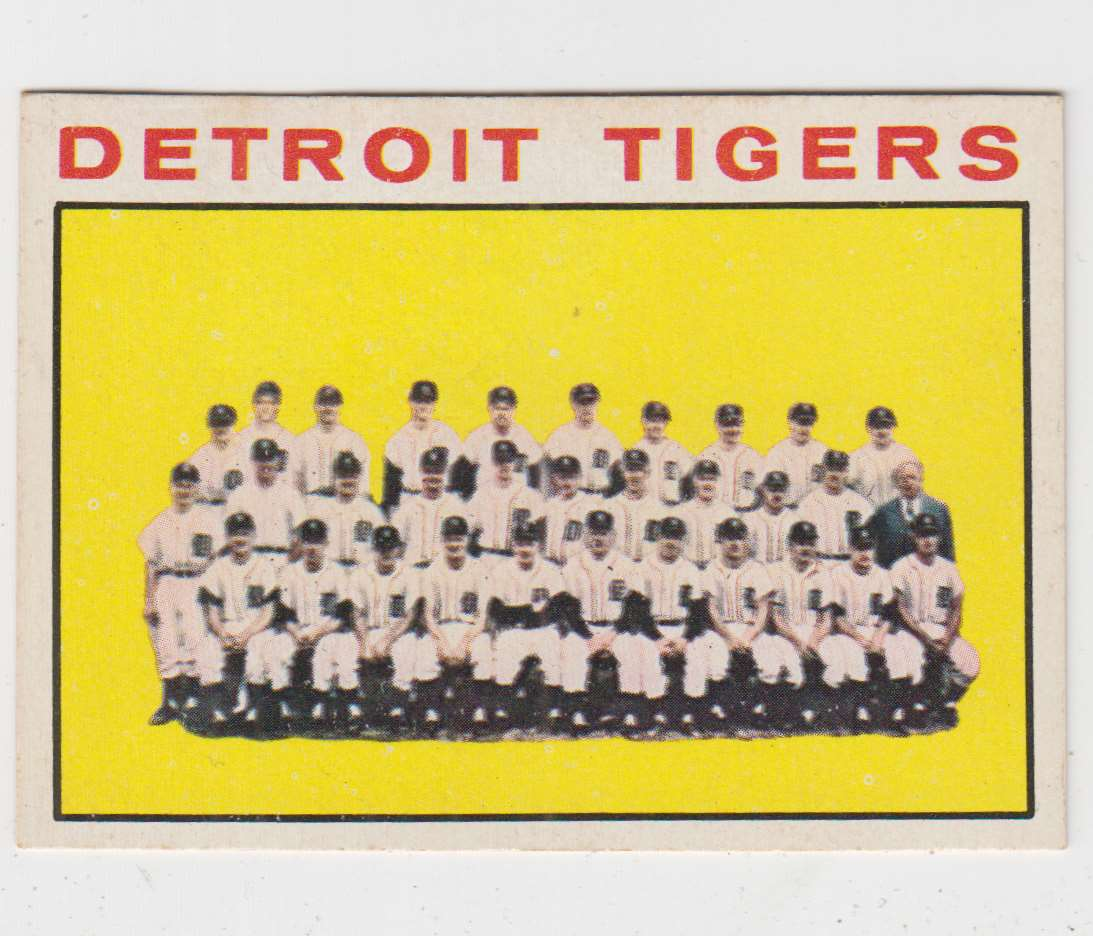 1964 Topps Detroit Tigers #67 card front image