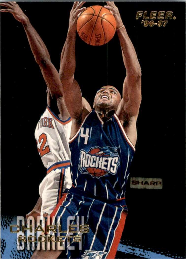 1996-97 Fleer Charles Barkley #190 card front image