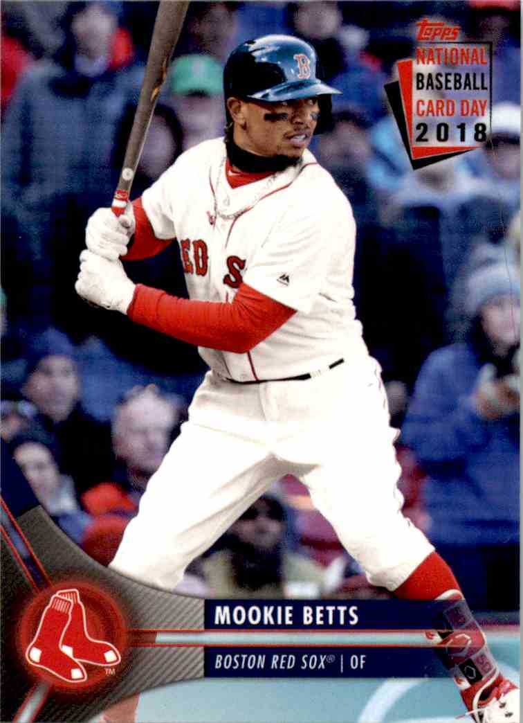 2018 Topps National Baseball Card Day Mookie Betts 2 On Kronozio