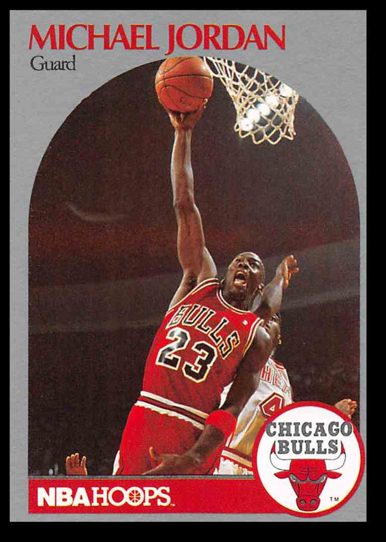 1990 91 Fleer Hoops Michael Jordan 65 On Kronozio