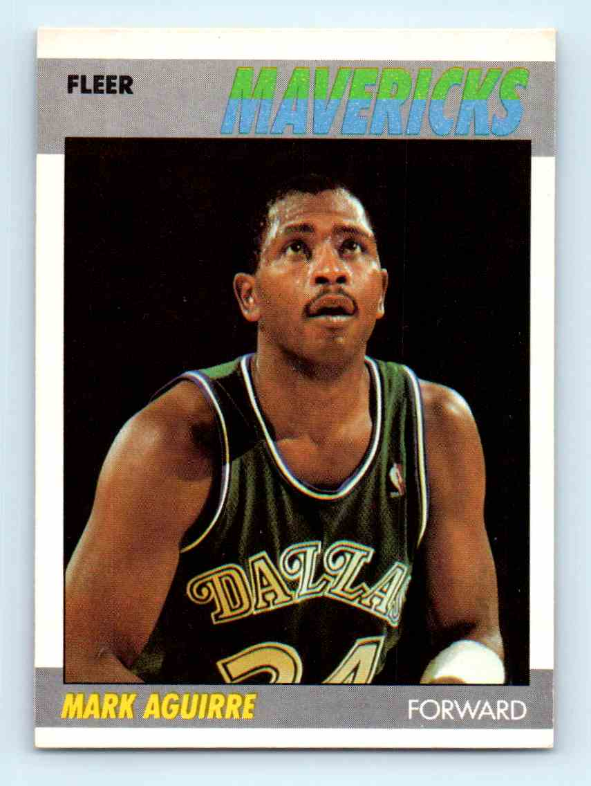 160 Mark Aguirre trading cards for sale