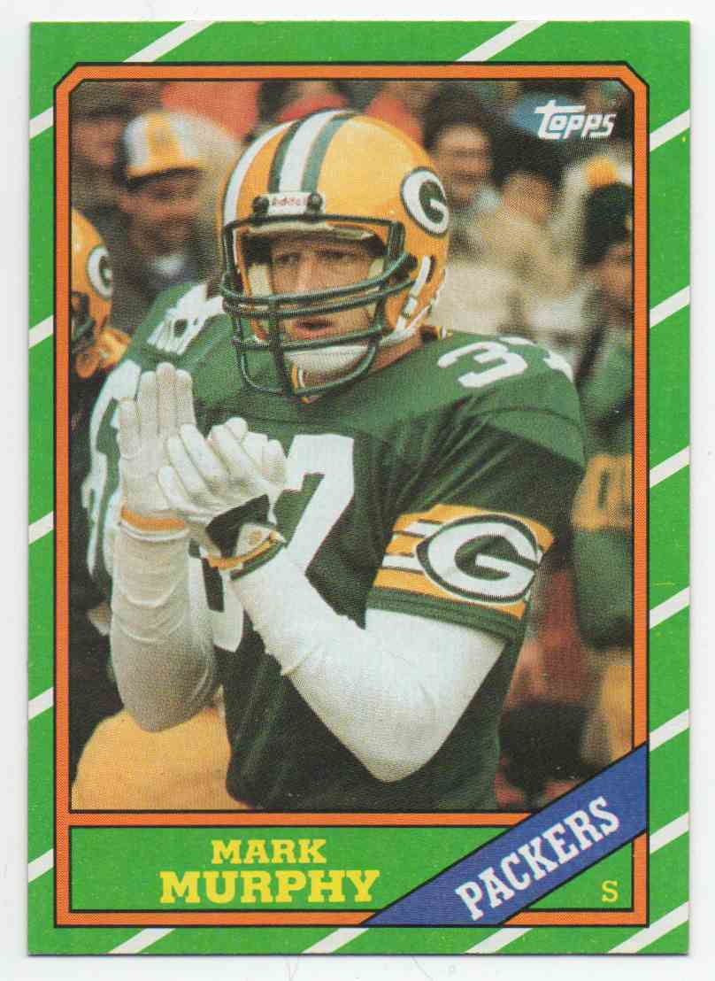 1986 Topps Mark Murphy #224 card front image