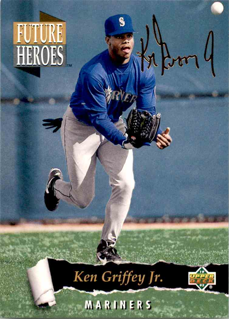 1993 Upper Deck Series 2 Future Heros Ken Griffey JR. #59 card front image