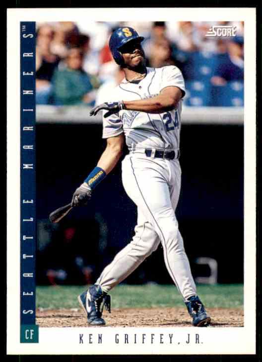 1993 Score Ken Griffey JR. #1 card front image