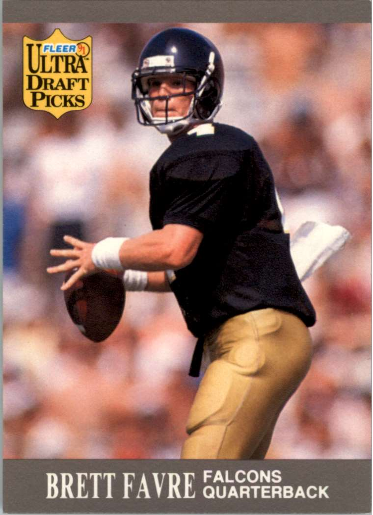 1995 Select Brett Favre #50 card front image