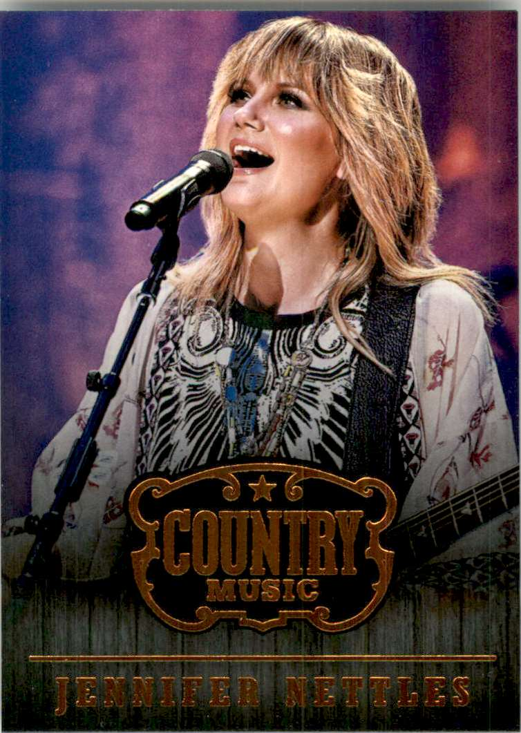2015 Country Music Retail Jennifer Nettles #70 card front image
