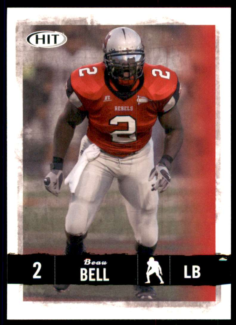 2008 Sage Hit Beau Bell #69 card front image