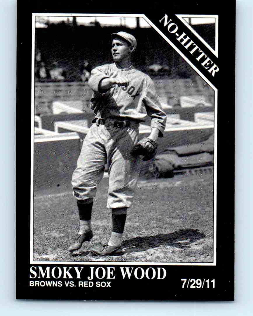 1992 Megacards Conlon Collection Smoky Joe Wood 336