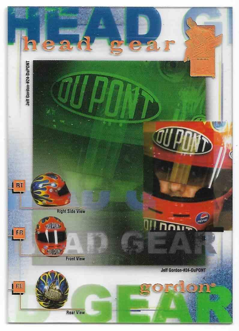 2004 Press Pass Vip Head Gear Transparent Jeff Gordon #2 card front image