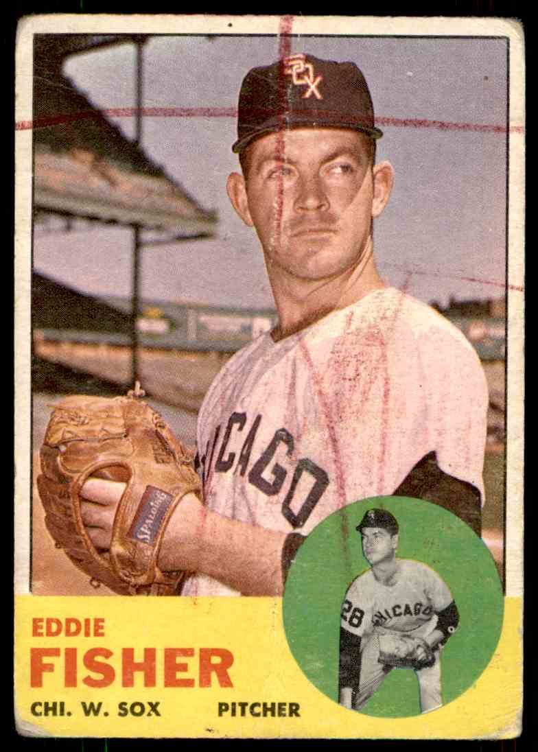 1963 Topps Eddie Fisher #223 card front image