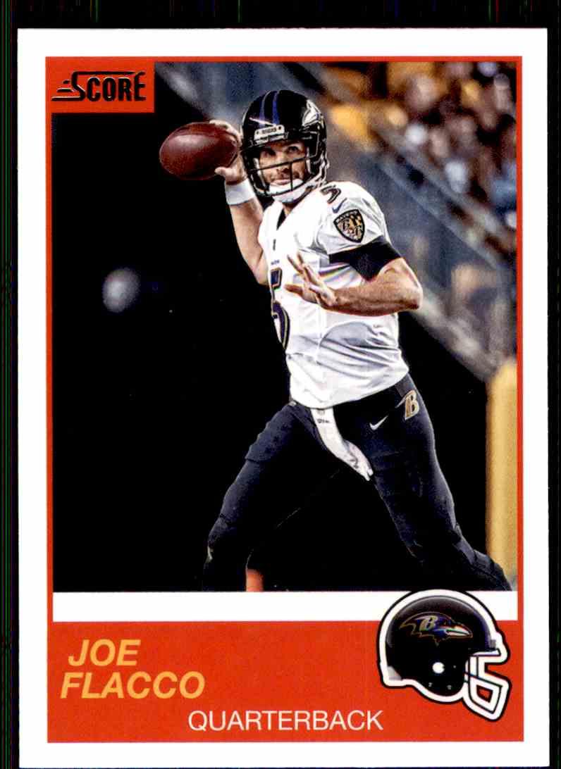2019 Score Joe Flacco #82 card front image