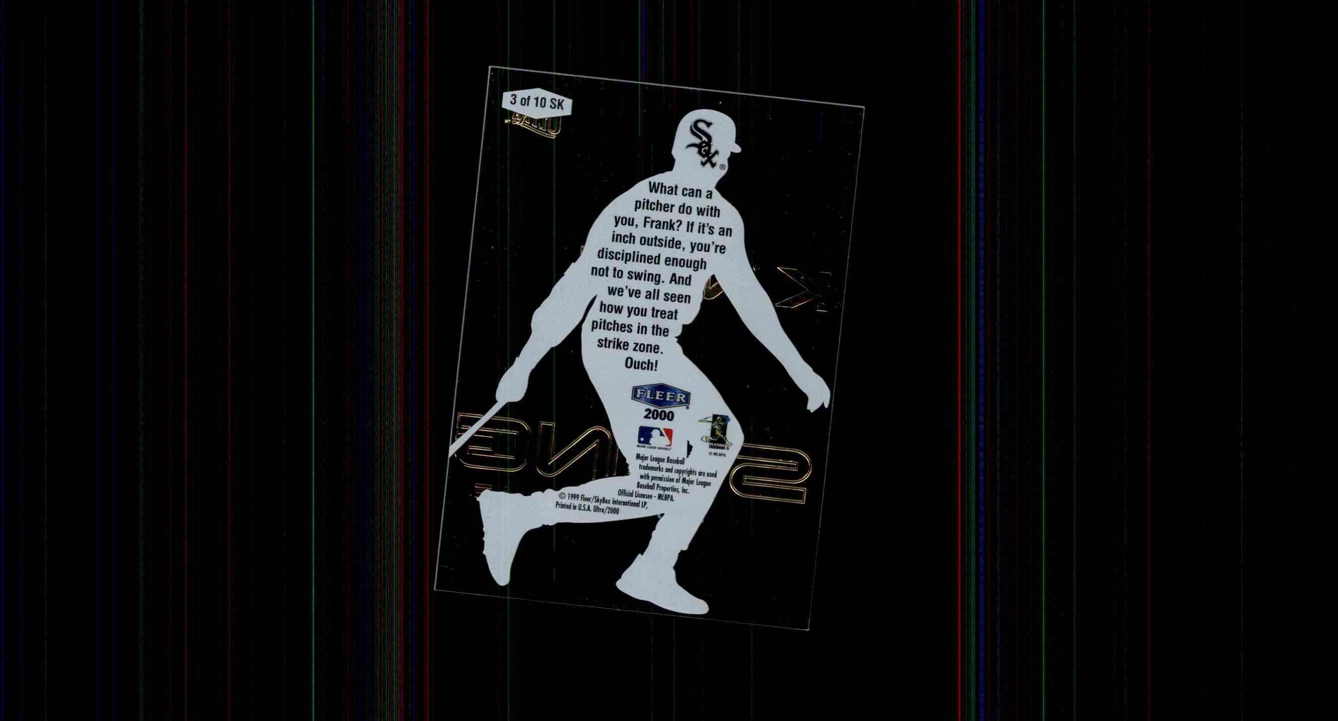 2000 Ultra Swing King Frank Thomas 3 On Kronozio
