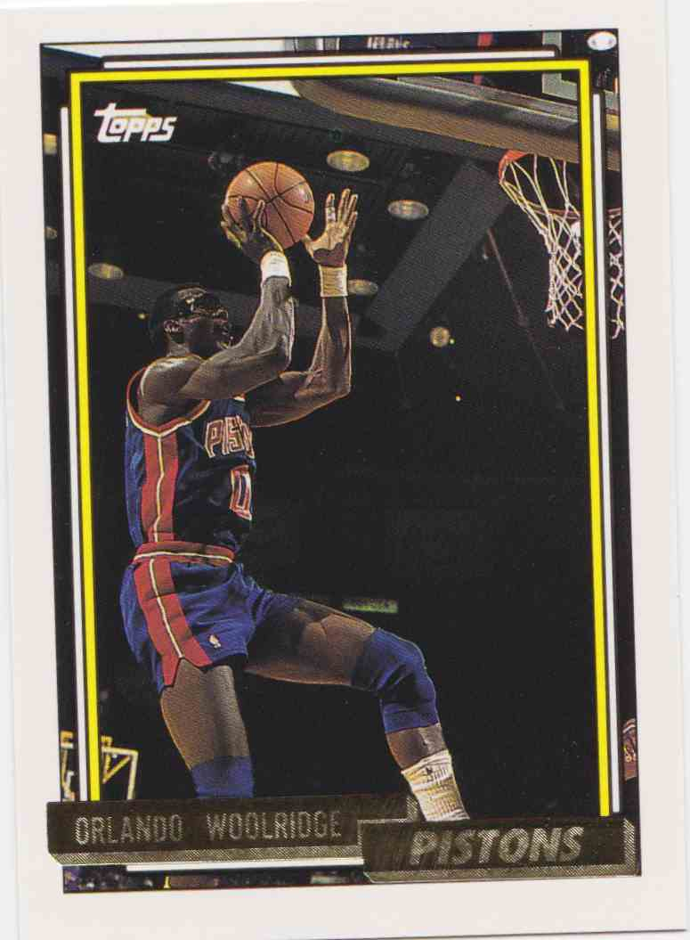 1992 93 Topps Base Gold Orlando Woolridge 39 on Kronozio