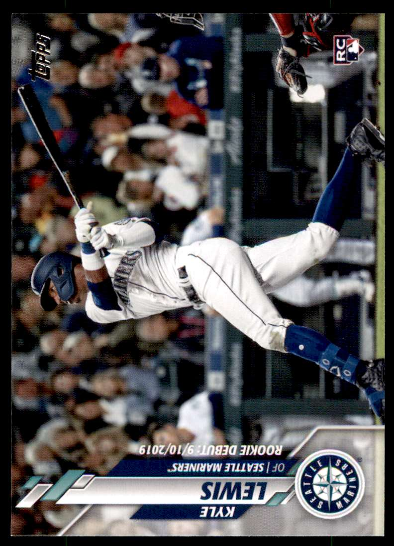 2020 Topps Update Kyle Lewis #U-21 card front image
