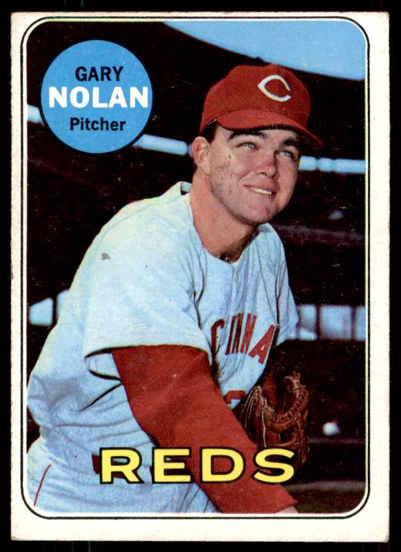 1969 Topps Gary Nolan #581 card front image