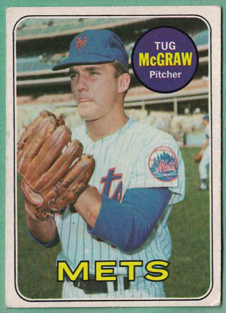 1969 Topps Tug McGraw EX #601 card front image