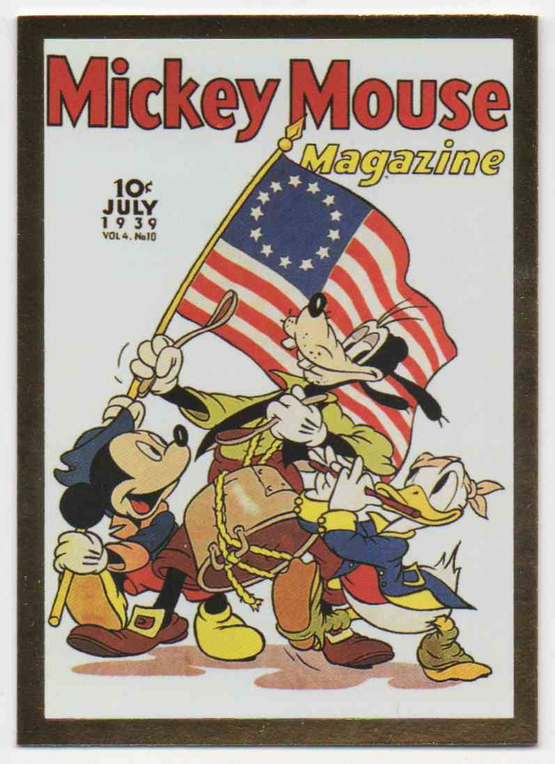 1995 Skybox Disney Premium Mickey And Friends-1939 #78 card front image
