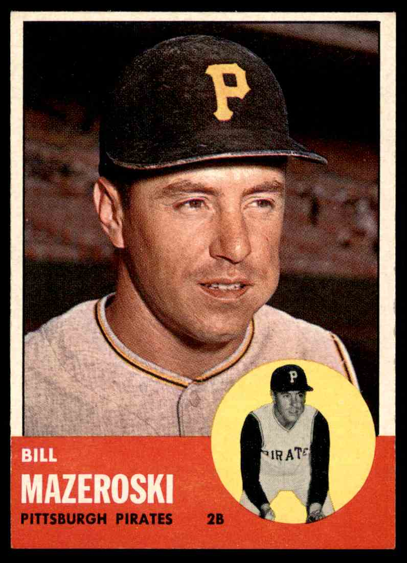 1963 Topps Bill Mazeroski 323 On Kronozio