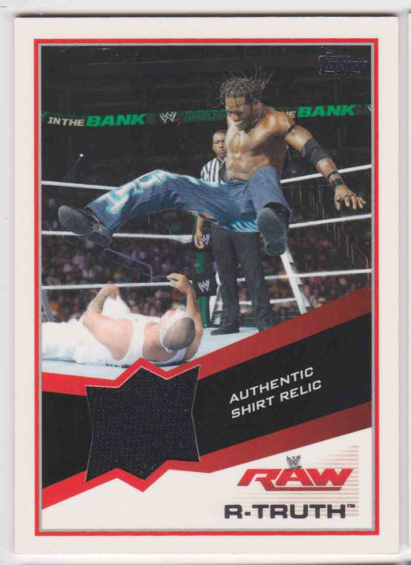2013 Topps Wwe Raw R-Truth card front image