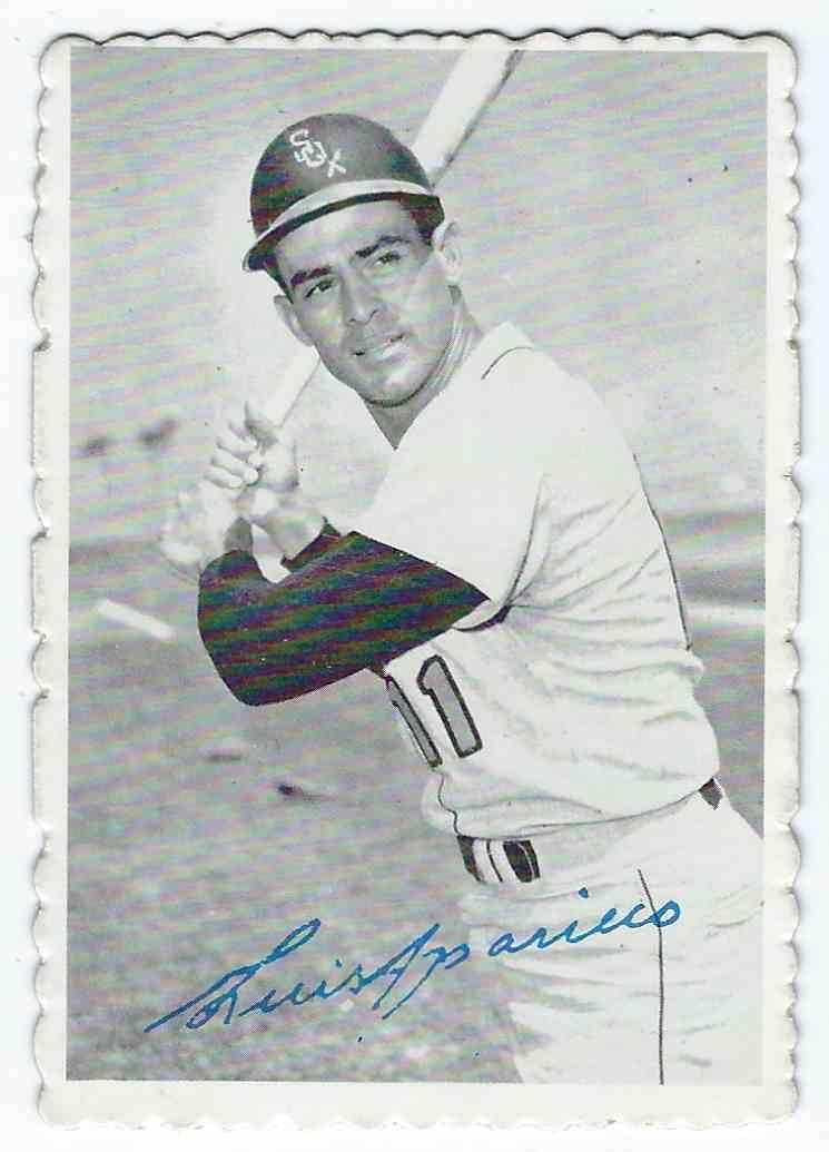 1969 Topps Deckle Edge Luis Aparicio 6 On Kronozio