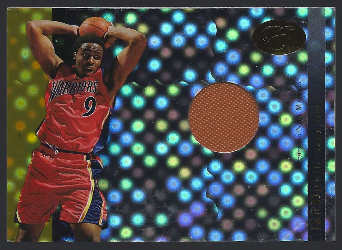 2006-07 Bowman Elevation Power Brokers Relics Gold Ike Diogu #PBRID card front image