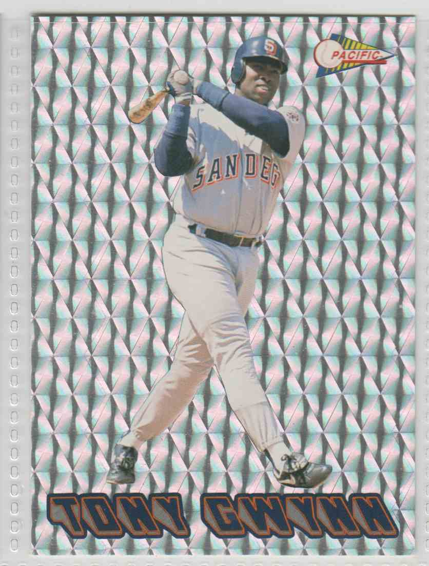 1993 Pacific Jugadores Calientes Tony Gwynn #28 card front image